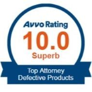 AVVO Top Attorney Defective Products