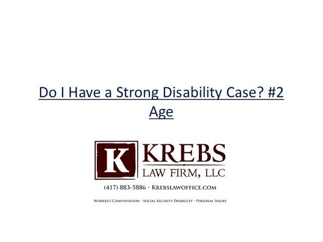 Does Age Impact Case For Arkansas Social Security